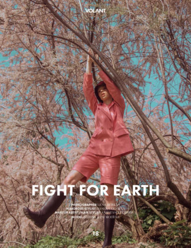 Fight for Earth Fashion Editorial for Volant Mag Germany